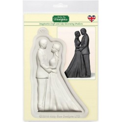 Bride and groom mould by...