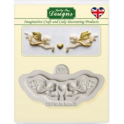 Mini Cherubs Mould by Katy...