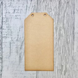 MDF A5 Rectangular Tags