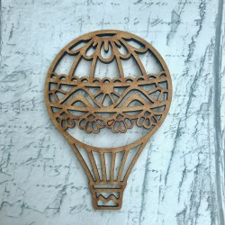 Hot Air Balloon 12cm MDF
