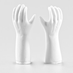 Plaster Marmoli Hands Art...