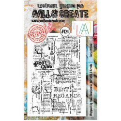AALL AND CREATE STAMP SET 124