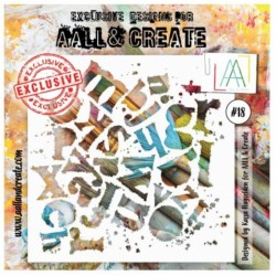 AALL AND CREATE STENCIL 18