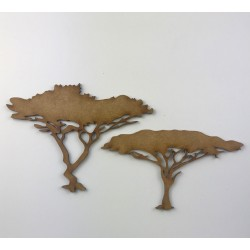 African Trees - MDF Pair