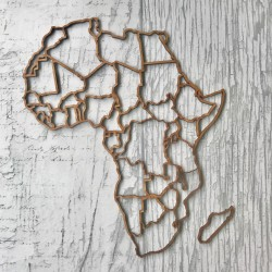 Large MDF Africa with...