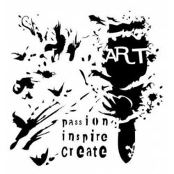 ARTS STENCIL - ART BRUSH
