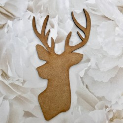 MDF Stags Head