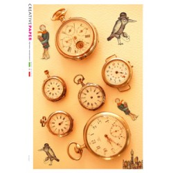 Pocket Watches Rice Paper