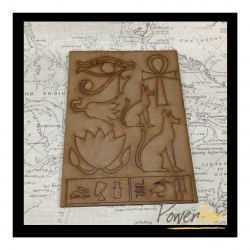 Egyptian Themed MDF Set A5