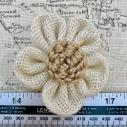 Large Hessian Flower