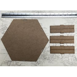 Hexagonal Art Board