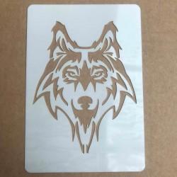 A7 Wolf Stencil