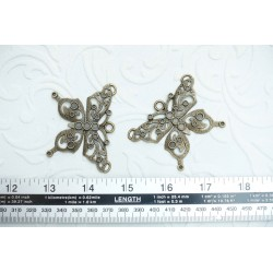Heavy Metal Butterfly Pair
