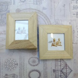 Pair of Small Wooden Frames