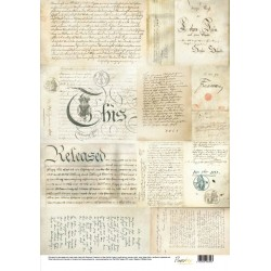 Silk Paper- Handwriting