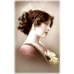 Victorian woman  girl rice...