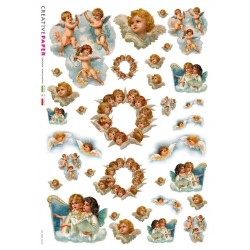 Rice Paper with cherubs