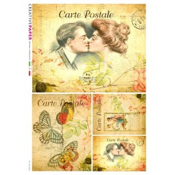 Victorian Lovers Postcards...