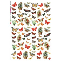 Butterflies Rice Paper