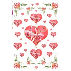 Rice Paper with heart designs