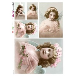 Rice Paper Victorian Girls...