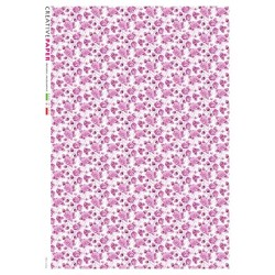 Rice Paper Small Pink Design